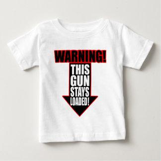 This Gun Stays Loaded T-shirt