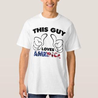 This guy loves america T-Shirt