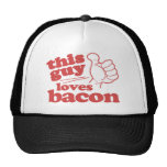 This Guy Loves Bacon Cap