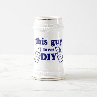 This Guy Loves DIY Beer Stein