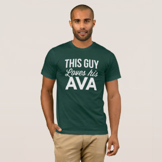 This guy loves his Ava T-Shirt