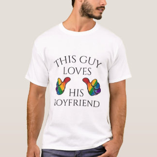 This Guy Loves His Boyfriend T-Shirt