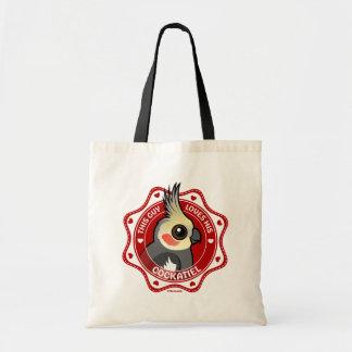 This Guy Loves His Cockatiel Tote Bag