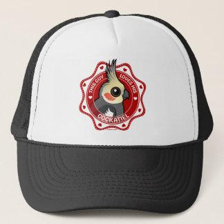 This Guy Loves His Cockatiel Trucker Hat