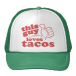 This Guy or Girl Loves Tacos Cap