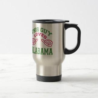 This Guys Loves Alabama. Mugs