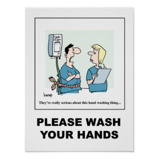 This Hand-Washing Thing poster