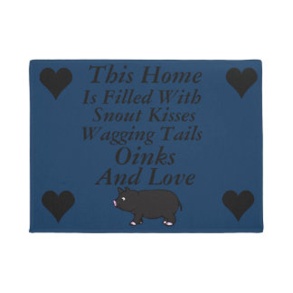 This home is filled with Snout kisses, Doormat