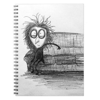 This House is Haunted - All Alone Spiral Notebook