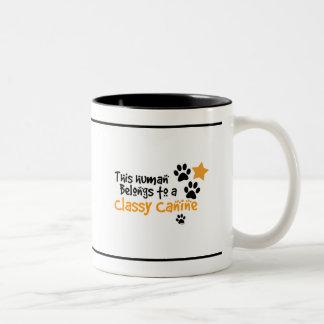 This Human Belongs to a Classy Canine Mug