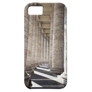 This image was taken inside the portico of Saint 2 Tough iPhone 5 Case