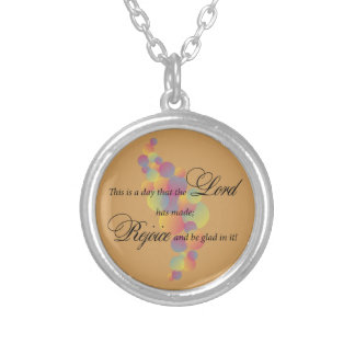 This is a Day the Lord has made Silver Plated Necklace