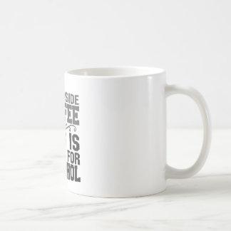 This is a job for alcohol basic white mug