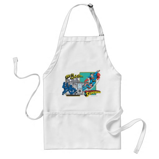 This is a job for�Superman 2 Aprons