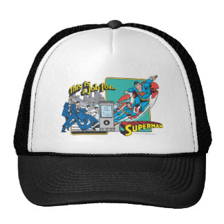 This is a job for�Superman 2 Hats
