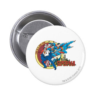 This is a job for�Superman 6 Cm Round Badge