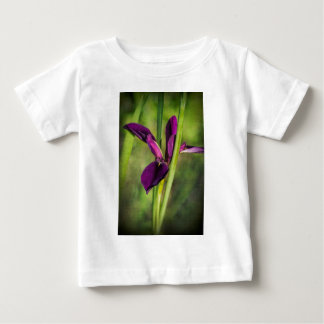 This is a Louisiana Gamecock Wildflower - Iris hex Baby T-Shirt