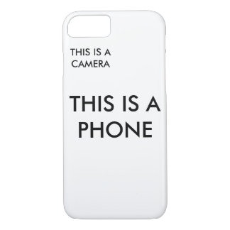 """This is a Phone"" Phonecase iPhone 8/7 Case"