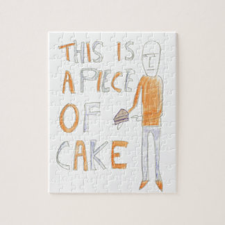 This is a piece of cake - Richard Watkins Jigsaw Puzzle