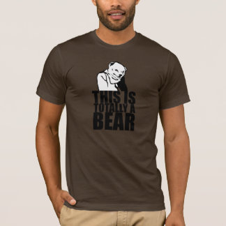 This is a Real Bear T-Shirt
