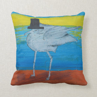 This is a small pillow, Seagull leader. Cushion