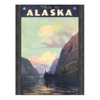 This Is Alaska, Vintage Post Card