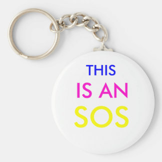THIS , IS AN, SOS KEY RING