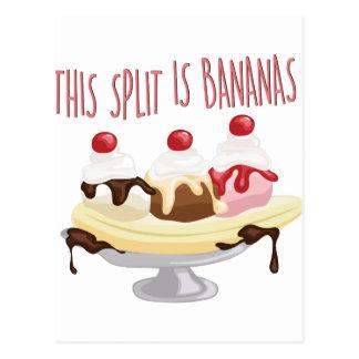 This Is Bananas Postcard
