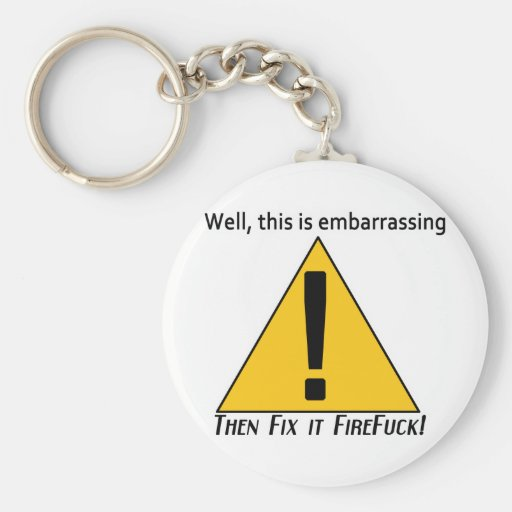 This is Embarrassing Keychain