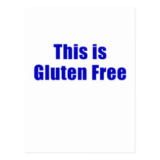 This is Gluten Free Postcard