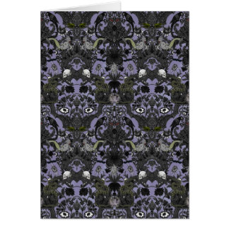 This Is Halloween ~ Haunted Damask Card