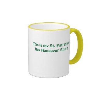 This is Hangover Shirt Coffee Mugs