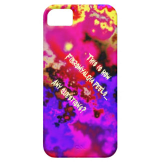 This is how Fibromyalgia feels...  Any questions? iPhone 5 Covers