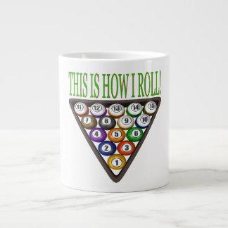 This Is How I Roll 2 Jumbo Mug