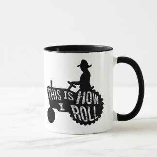 This is How I Roll  Farmer Style Mug