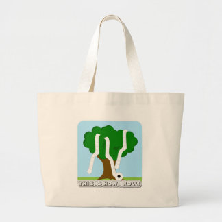 This is how I roll! Jumbo Tote Bag