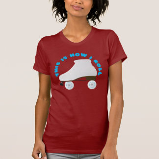 This is how I Roll Roller Skater T-Shirt
