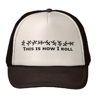 This Is How I Roll - Rolling Guy Mesh Hats