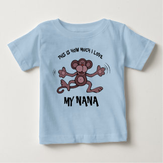 This is how much I love my Nana Baby T-Shirt