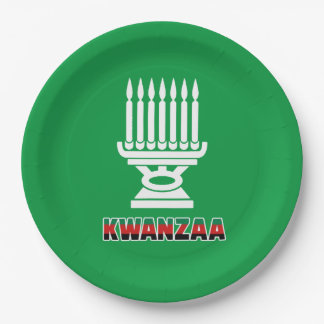 This Is Kwanzaa Kwanzaa Party Paper Plates