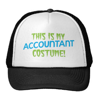 This is my Accountant costume! Halloween design Hats
