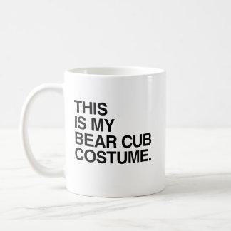 THIS IS MY BEAR CUB COSTUME.png Coffee Mug