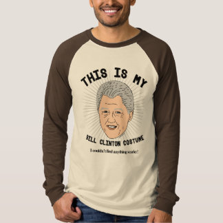 This is my Bill Clinton Costume - I couldn't find  T-Shirt