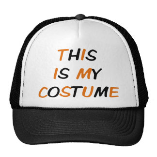 THIS IS MY COSTUME CAP