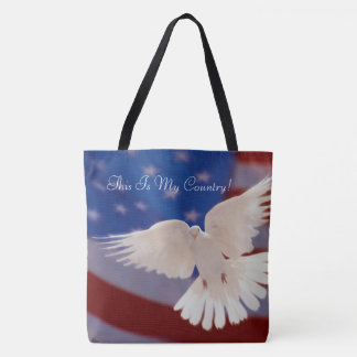 This Is My Country Tote Bag