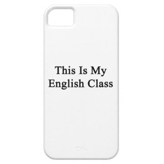 This Is My English Class iPhone 5 Covers