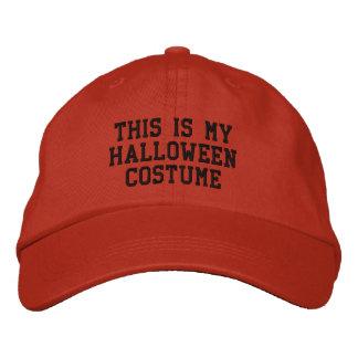 This is my Halloween Costume Baseball Cap