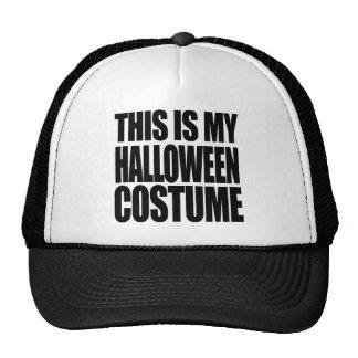 THIS IS MY HALLOWEEN COSTUME - TRUCKER HAT