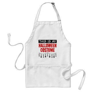 This is My Halloween Costume Skulls Stars Standard Apron