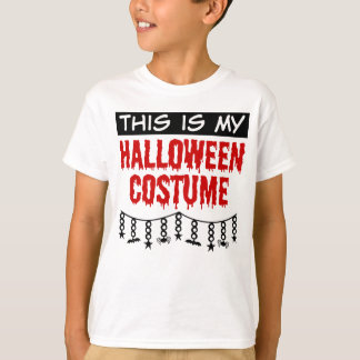 This is My Halloween Costume Spiders Bats T-Shirt